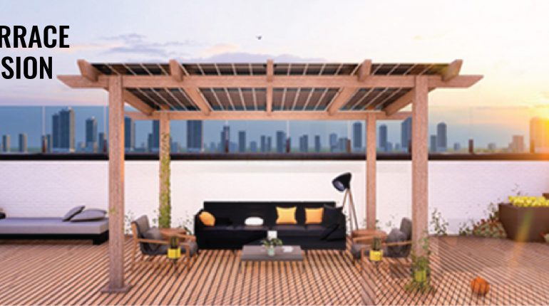 homescape atrium solar pergola